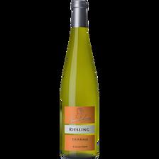Vin blanc Riesling AOC collection ANNE DE LAWEISS, bouteille de 75cl