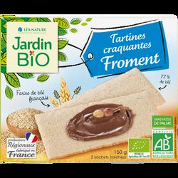 Tartines craquantes froment bio JARDIN BIO 150g