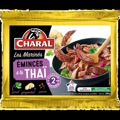 Emincé de boeuf thaï, CHARAL, France, étui, 200g