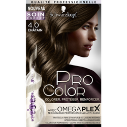 Coloration PRO COLOR, châtain 4.0