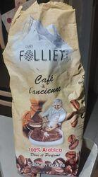 Café à l ancienne en grain 500gr Café Folliet