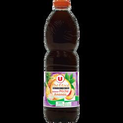 Boisson aux extrait de thé aromatisée saveur pêche ananas 1,5L