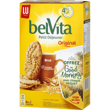 LU Biscuit Brut De Céréales Belvita Petit Déjeuner Lu, Paquet De 400g