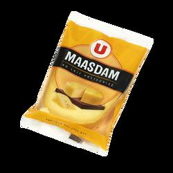 Fromage au lait pasteurisé Maasdam jeune U, 27% de MG, portion de 330g