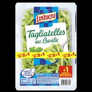 Lustucru Spécialité Céréalière À Base De Semoule De Blé Dur Tagliatelles Basilic Lustucru 2x300g +1 Offert