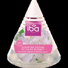 Pyramide mèche fleur de coton & lilas blanc IBA, 75ml