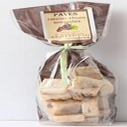 Pavés raisins-rhum amandes, Chez Damaselles, 200g