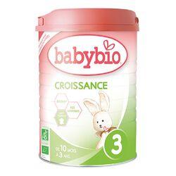 Croissance BABYBIO de 10 à 36 mois 900g