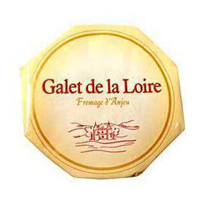 Fromage d'Anjou au lait pasteurisé  Le Galet de la Loire , 28%MG, 260g