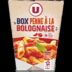 Box penne à la bolognaise U, 300g