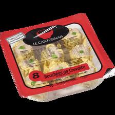 Bouchées de crevettes LE CANTONNAIS, 6 pièces, 200g