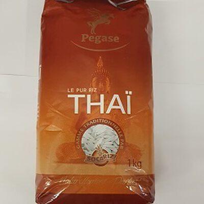 Le pur riz thaï PEGASE, le sachet de 1kg