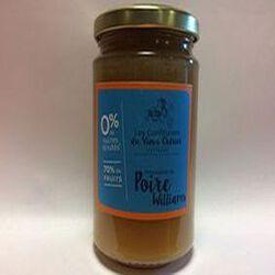 préparation de poire williams 0% de sucres ajoutés CONFITURIERS DU VIEUX CHERIER 0,300g