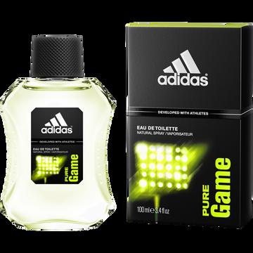 Adidas Eau De Toilette Pour Homme Pure Game Adidas, 100ml