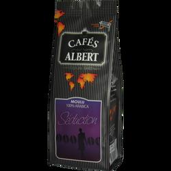 Café séduction moulu arabica corsé CAFES ALBERT, 250g