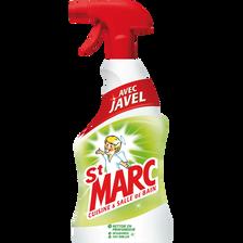Nettoyant ménager désinfectant avec javel cuisine et salle de bain STMARC, spray de 500ml