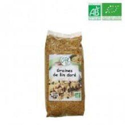 Graines de lin doré, OFAL BIO, le paquet de 500g