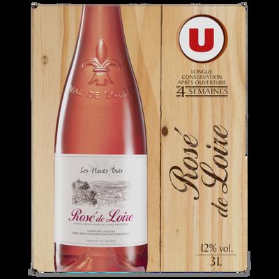 Rosé de Loire Hauts Buis U, fontaine à vin de 3l