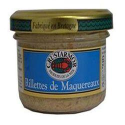Rillettes de maquereaux à la moutarde à l'ancienne 90g LE GRAND LEJON