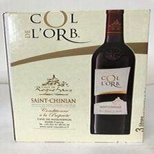 AOP Saint Chinian Col de L'Orb rouge 3L