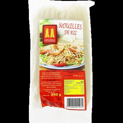 Nouilles de riz LES DEUX PAGODES, 250g