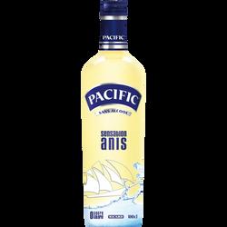 Apéritif anisé sans alcool PACIFIC, bouteille de 1 litre