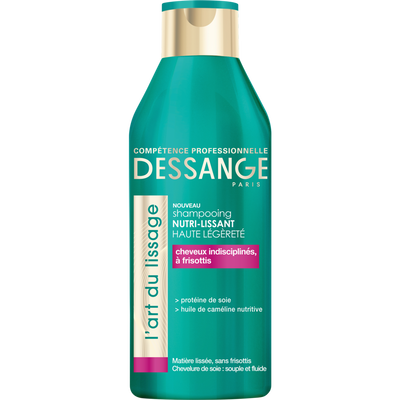 Shampooing l'art du lissage, J.DESSANGE, flacon, 250ml
