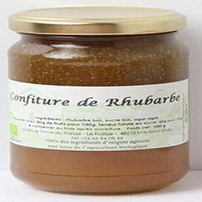 Confiture de Rhubarbe BIO, 350g