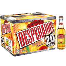 Bière aromatisée téquila DESPERADOS, 20x25cl