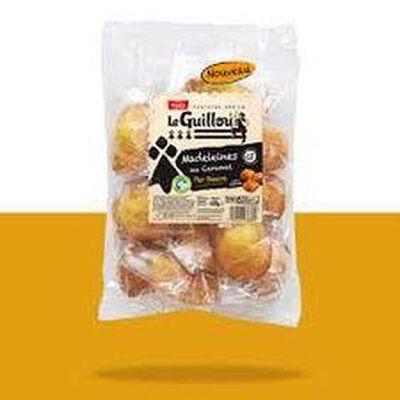 Madeleines au caramel au beurre salé au sel de guérande 430g Le Guillou