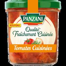 Sauce tomates cuisinées qualité fraîchement cuisinée, PANZANI, 320g