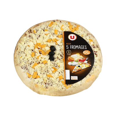 Pizza aux 5 fromages U, 475g