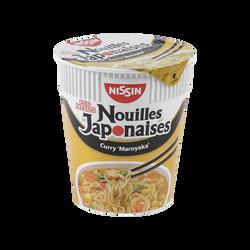 Nouilles japonaises curry maroyaka NISSIN, 67g