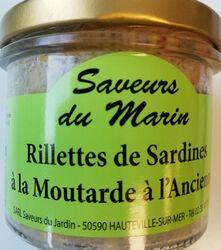 RILLETTES DE SARDINE Moutarde à l'ancienne
