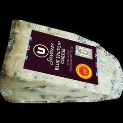 Fromage pasteurisé pâte persillé blue stilton cheese AOP 35%mg U SAVEURS 160g