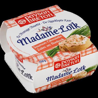 Les recettes de MME LOIK, saumon ciboulette  lait pasteurisé, 23%MG 150g