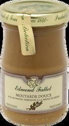 Moutarde brune douce EDMOND FALLOT, bocal 10cl