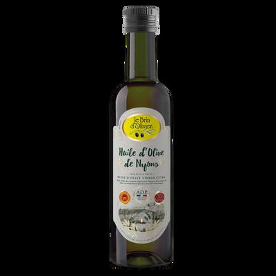 Huile d'olive de Nyons vierge extra AOP LE BRIN D'OLIVIER, bouteille 50cl