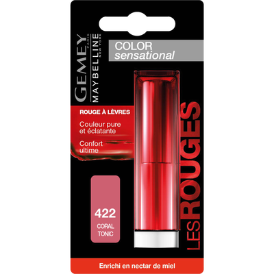 Ral color sensational coral tonic 422 MAYBELLINE