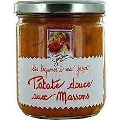 Patate douce aux marrons 390g