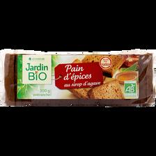 Pain d'épices bio JARDIN BIO, paquet de 300g