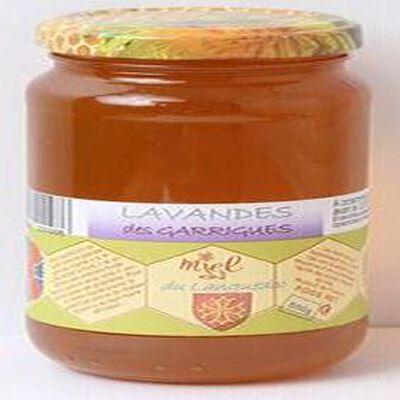 Miel de lavande des Garrigues, Les Ruchers des Barons d'Apcher, 500g