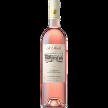 Vin rosé Lubéron AOP , Domaine Saint Médié, RAVOIRE ET FILS, bouteillede 75cl