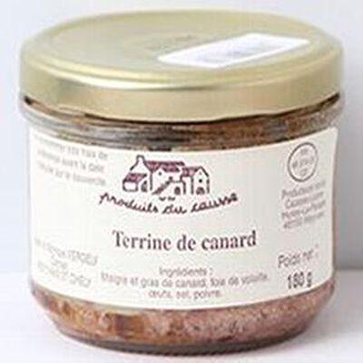 Terrine de canard Produits du causse 180g