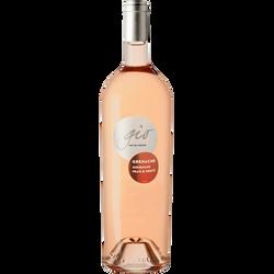 Vin rosé IGP Pays d'Oc Grenache Gio, 1,5l