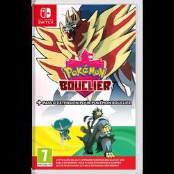 Jeu NINTENDO switch Pokémon bouclier+pass d'extension pour Pokémonbouclier