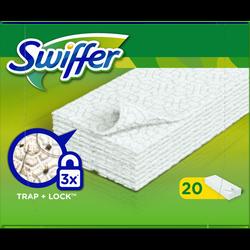 Lingettes anti poussière Dry SWIFFER , 20 lingettes