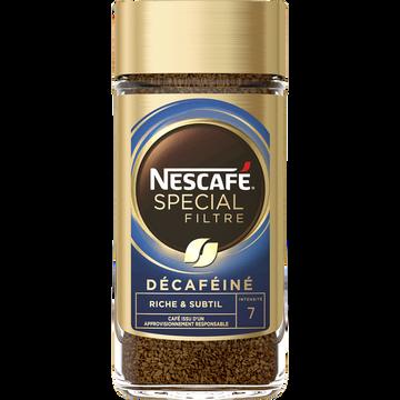 Nescafé Café Soluble Spécial Filtre Décaféïné Nescafe, 200g