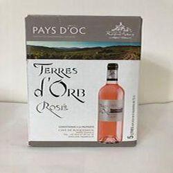 AOP Saint Chinian Terres de L'Orb rosé 5L