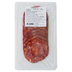 Chorizo, 10 tranches, 100g